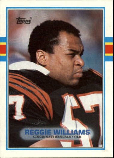 1989 Topps #36 Reggie Williams