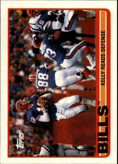 1989 Topps #40 Bills TL/Jim Kelly