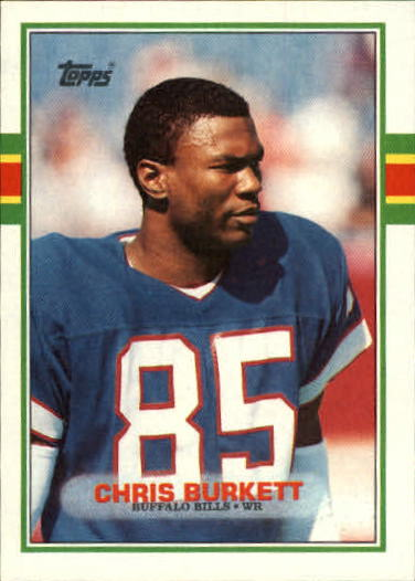 1989 Topps #54 Chris Burkett