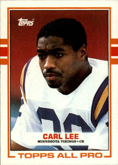 1989 Topps #76 Carl Lee RC