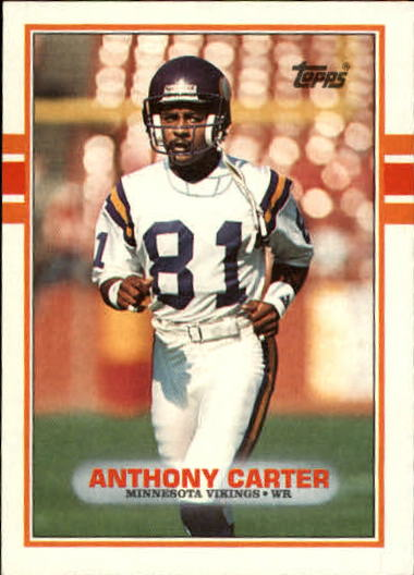 1989 Topps #79 Anthony Carter