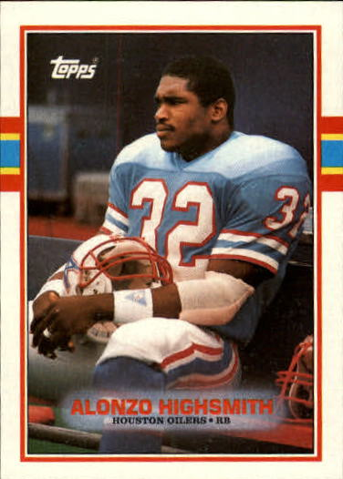 1989 Topps #96 Alonzo Highsmith