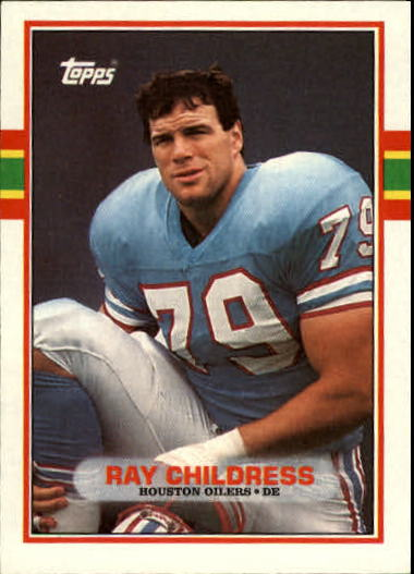 1989 Topps #101 Ray Childress