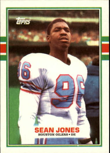 1989 Topps #102 Sean Jones