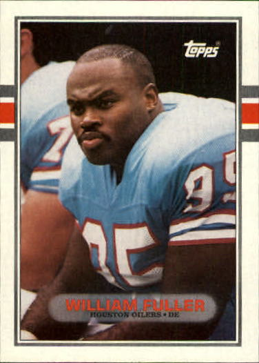 1989 Topps #104 William Fuller RC