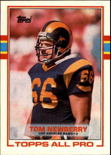 1989 Topps #123 Tom Newberry RC