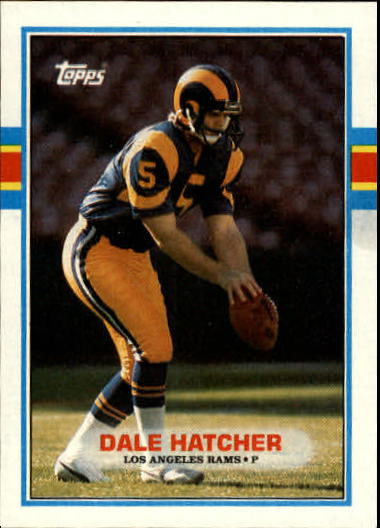 1989 Topps #132 Dale Hatcher