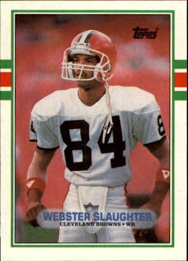 1989 Topps #140 Webster Slaughter