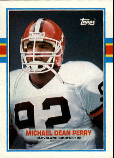 1989 Topps #148 Michael Dean Perry RC