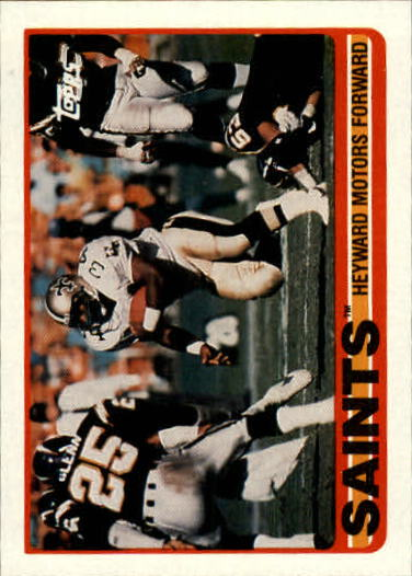 1989 Topps #152 Saints Team