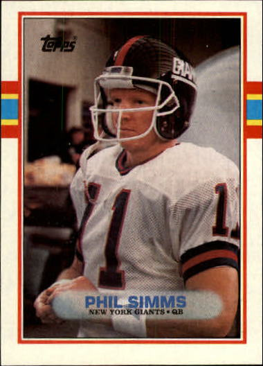1989 Topps #172 Phil Simms