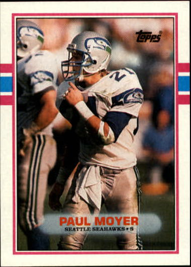 1989 Topps #187 Paul Moyer