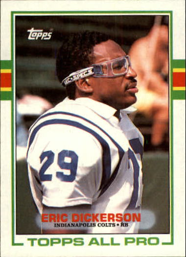 1989 Topps #206 Eric Dickerson