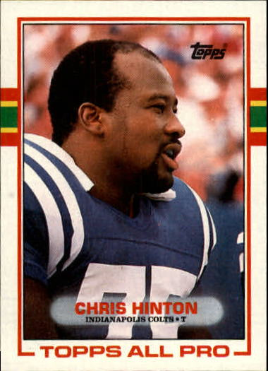 1989 Topps #207 Chris Hinton