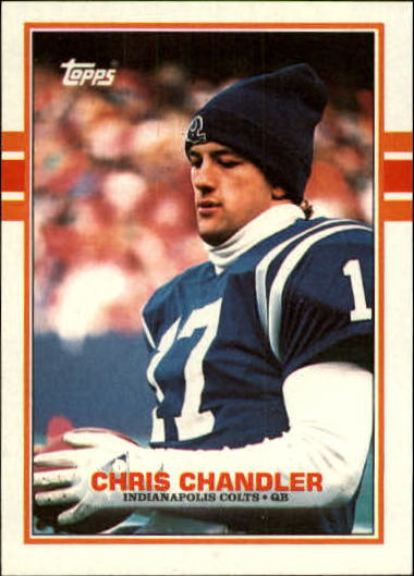 1989 Topps #209 Chris Chandler RC