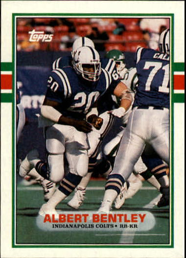1989 Topps #216 Albert Bentley
