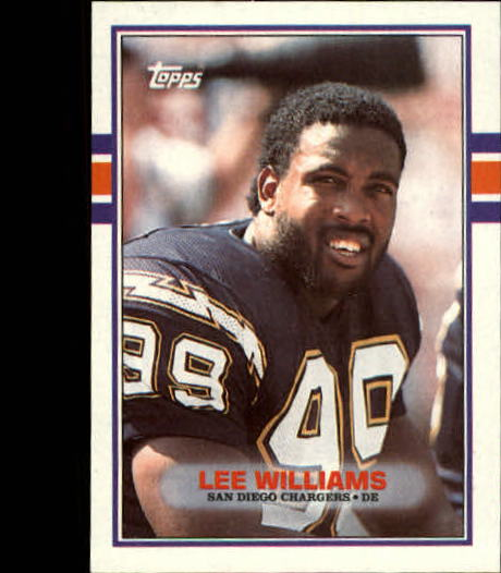 1989 Topps #304 Lee Williams
