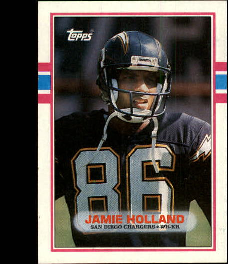 1989 Topps #308 Jamie Holland RC