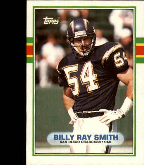 1989 Topps #309 Billy Ray Smith