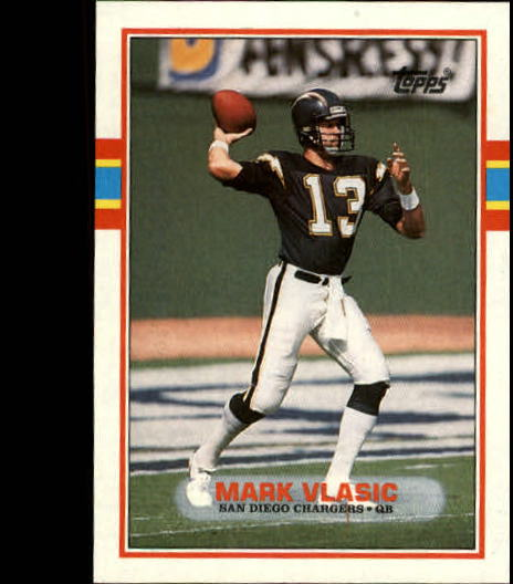 1989 Topps #311 Mark Vlasic RC