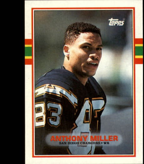 1989 Topps #313 Anthony Miller RC