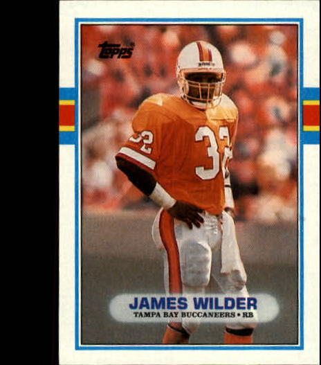 1989 Topps #329 James Wilder