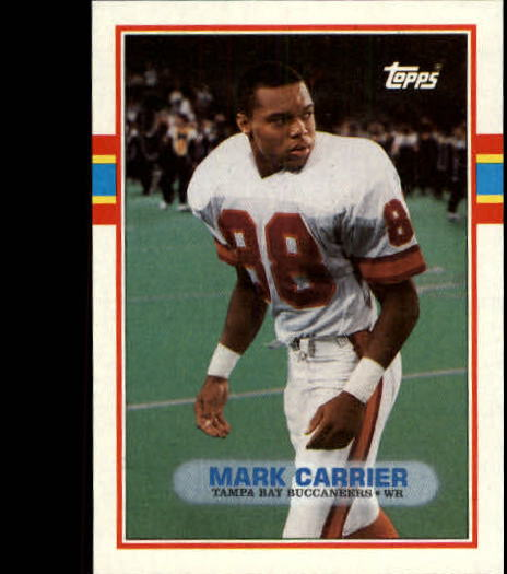 1989 Topps #331 Mark Carrier RC
