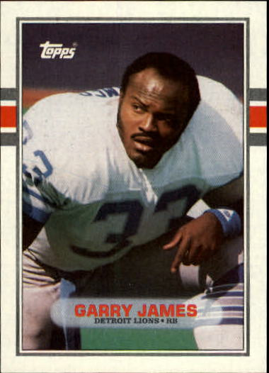 1989 Topps #367 Garry James