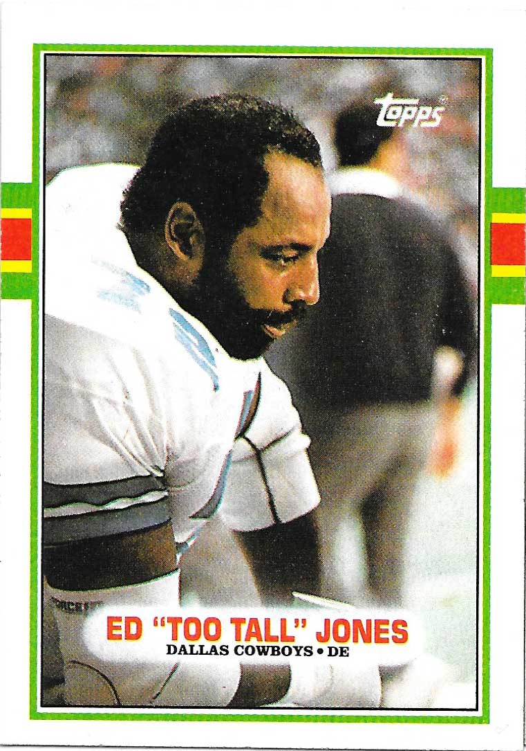 1989 Topps #389 Ed Too Tall Jones