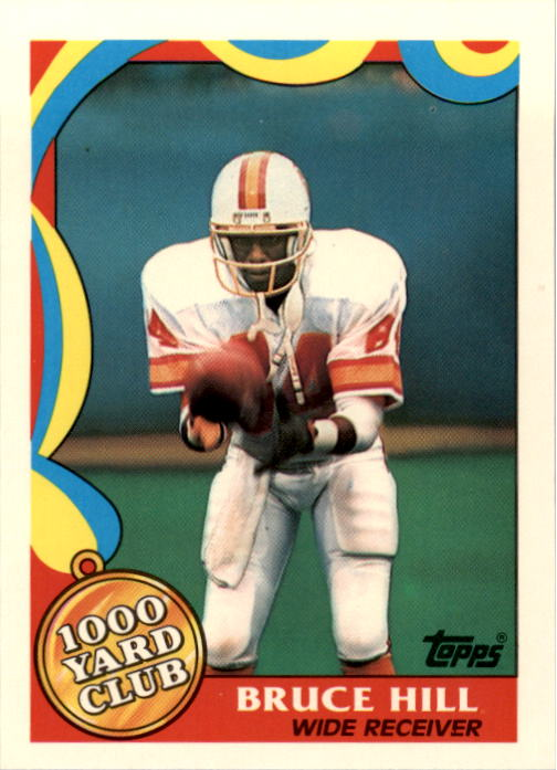 1989 Topps 1000 Yard Club #20 Bruce Hill