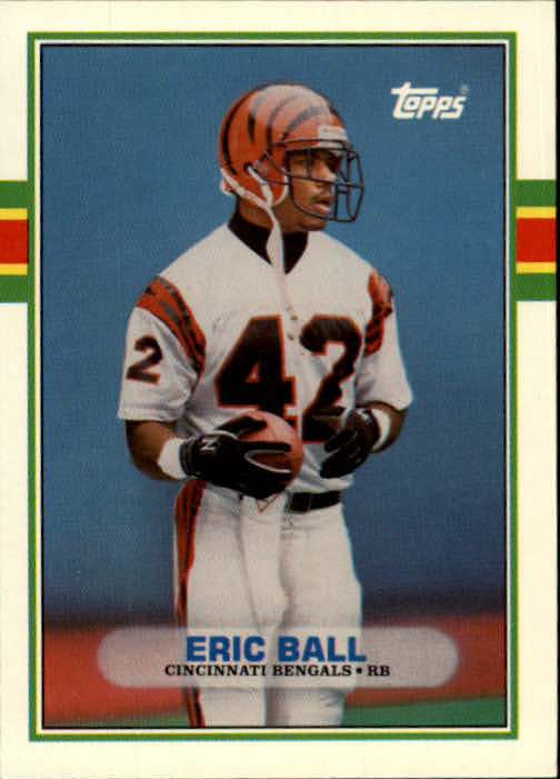 1989 Topps Traded #1T Eric Ball RC
