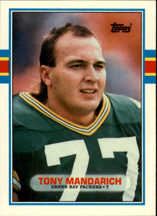 1989 Topps Traded #2T Tony Mandarich RC