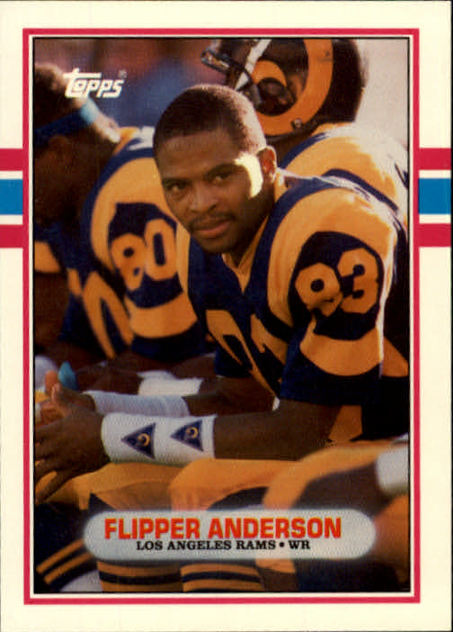1989 Topps Traded #14T Flipper Anderson RC