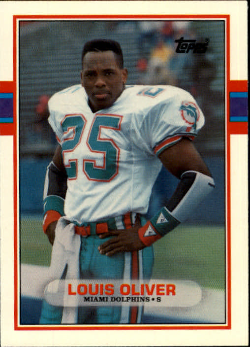 1989 Topps Traded #15T Louis Oliver RC
