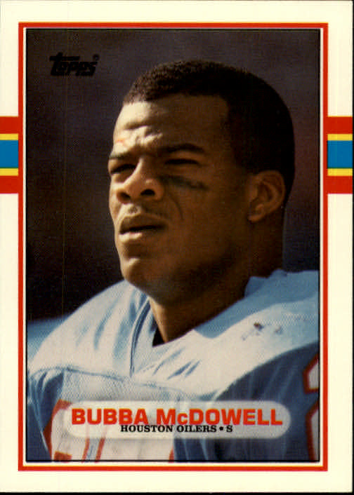 1989 Topps Traded #19T Bubba McDowell RC