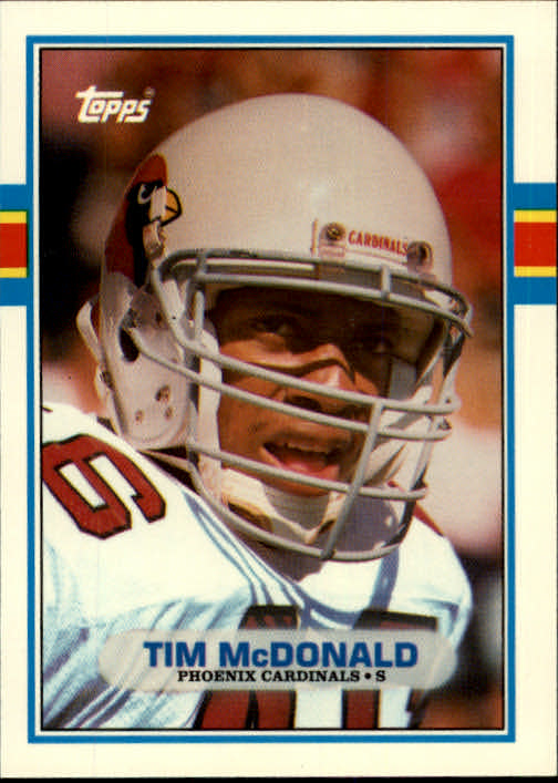 1989 Topps Traded #21T Tim McDonald RC