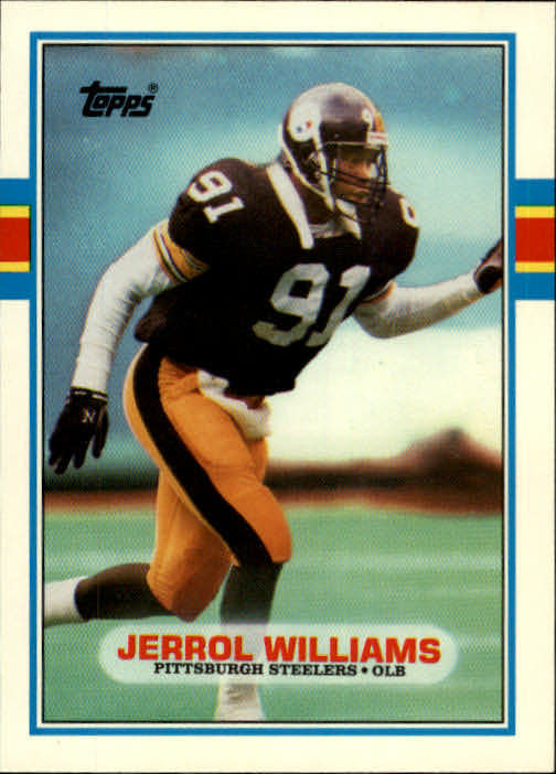 1989 Topps Traded #22T Jerrol Williams RC