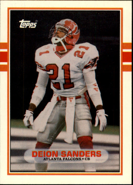 1989 Topps Traded #30T Deion Sanders RC