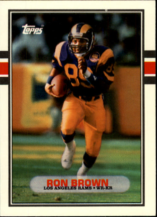 1989 Topps Traded #34T Ron Brown front image