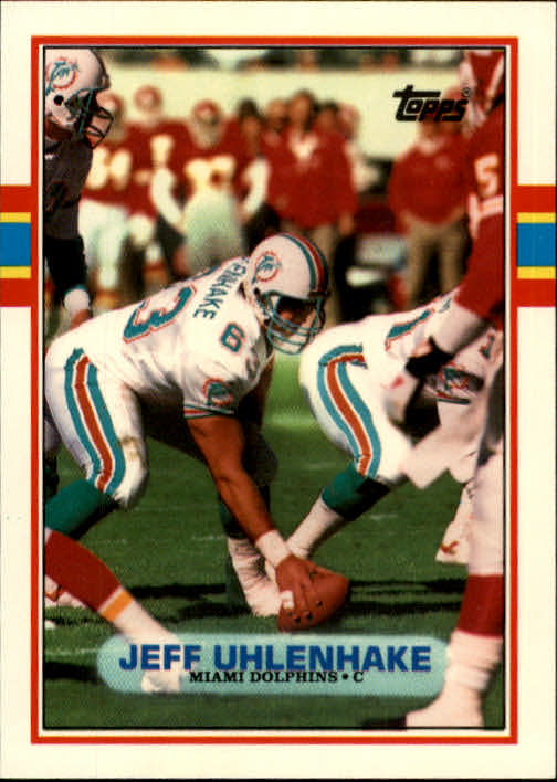 1989 Topps Traded #36T Jeff Uhlenhake RC