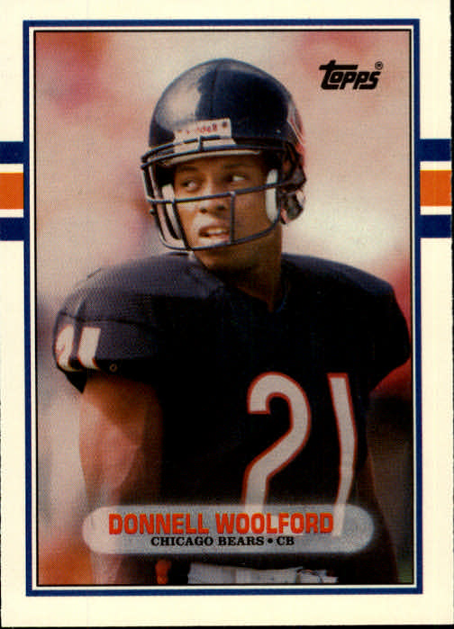 1989 Topps Traded #37T Donnell Woolford RC