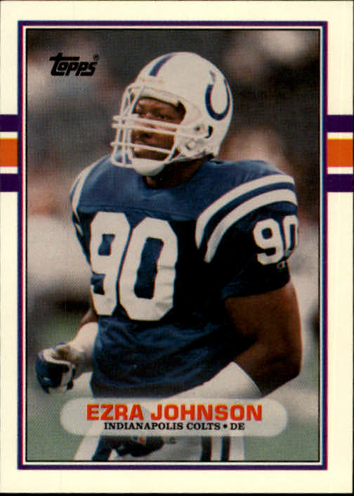 1989 Topps Traded #39T Ezra Johnson