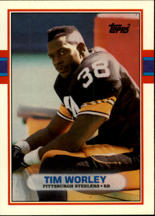 1989 Topps Traded #44T Tim Worley RC