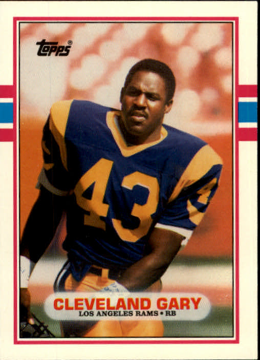 1989 Topps Traded #46T Cleveland Gary RC
