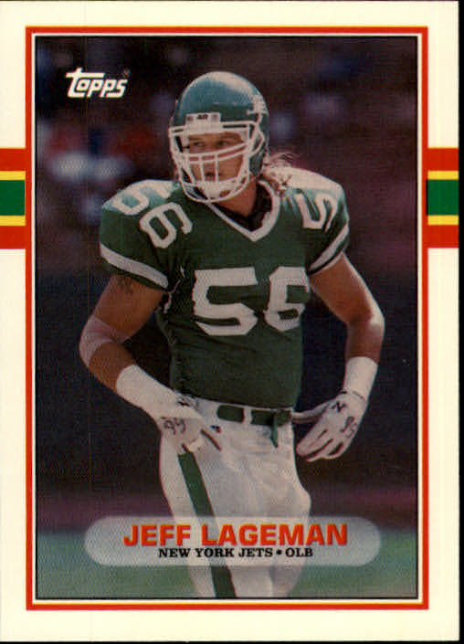 1989 Topps Traded #49T Jeff Lageman RC