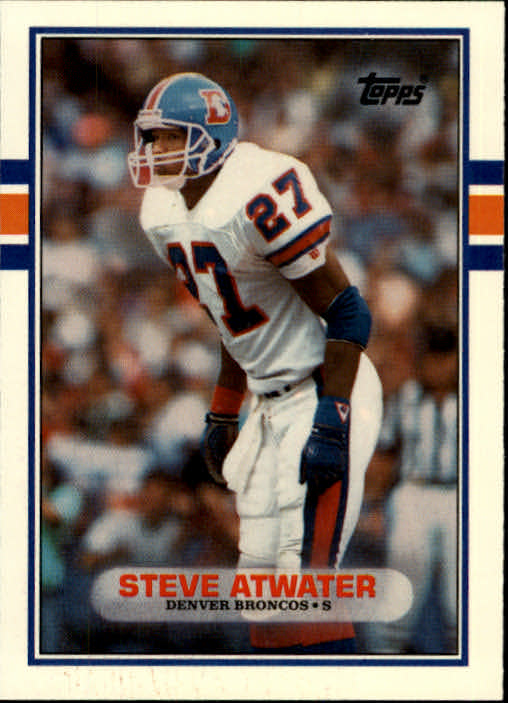 1989 Topps Traded #52T Steve Atwater RC