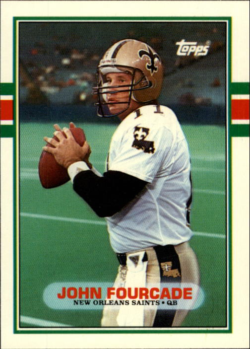 1989 Topps Traded #53T John Fourcade RC