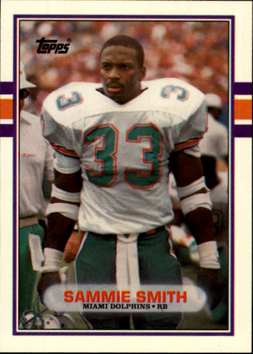 1989 Topps Traded #56T Sammie Smith RC