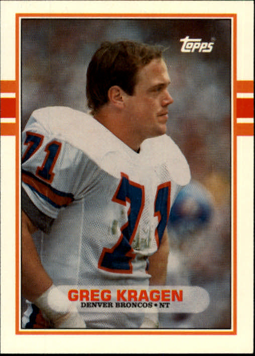 1989 Topps Traded #58T Greg Kragen RC