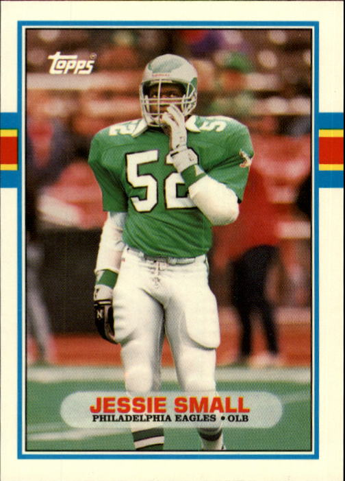 1989 Topps Traded #66T Jessie Small RC